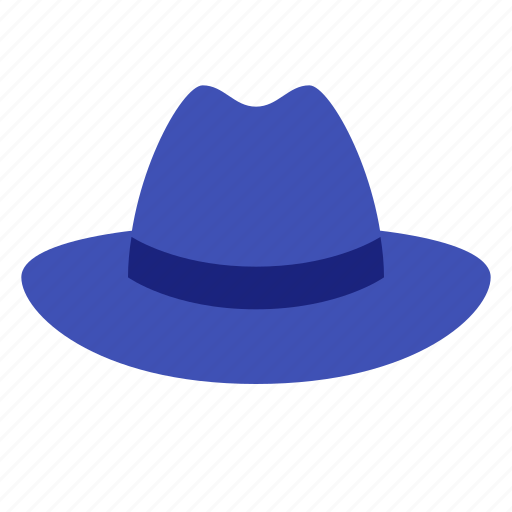 cinema, film, genre, hat, movie, noir, retro, video icon