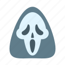evil, halloween, horror, scary, scream, spooky icon