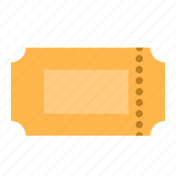 cinema, film, movie, ticket icon