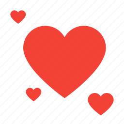 heart, hearts, novel, romance icon