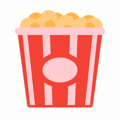 cinema, food, movie, popcorn, snack icon