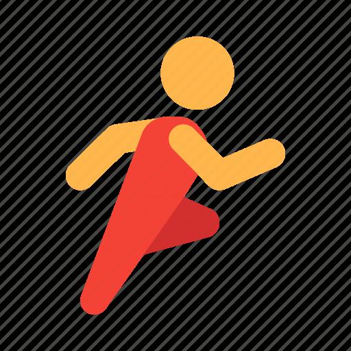 mode, running, shot, sport, sports icon