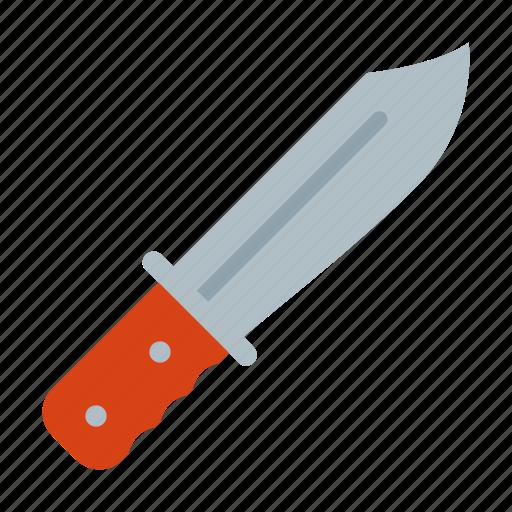 crime, criminal, knife, thriller, triller icon