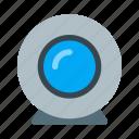 camera, device, mobile, web icon