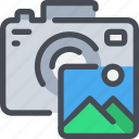cam, camera, digital, media, photo, photography icon