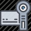 camera, device, media, movie, video, videography icon