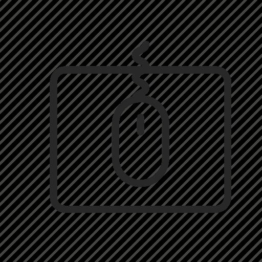 computer, designer, management, manipulator, mouse icon