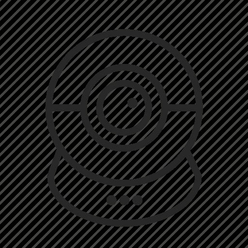 camera, communication, surveillance, web camera icon