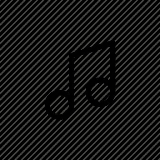 2, audio, music, note, photo, ui, video icon