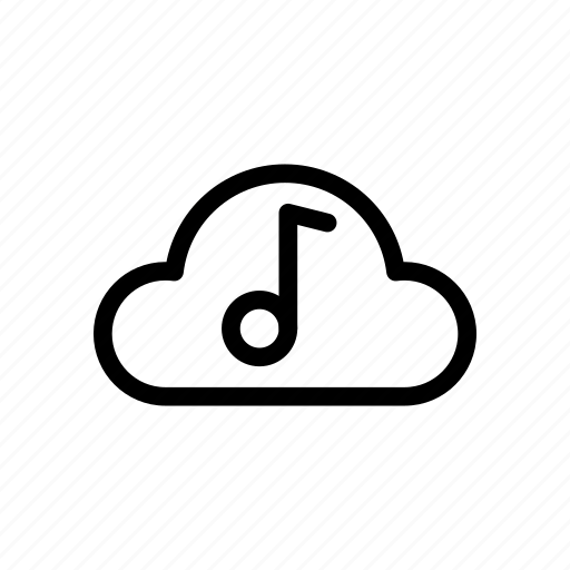 audio, cloud, music, photo, ui, video icon