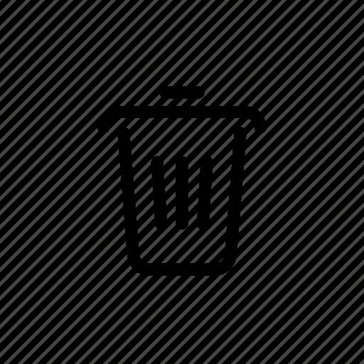 audio, photo, trash, ui, video icon