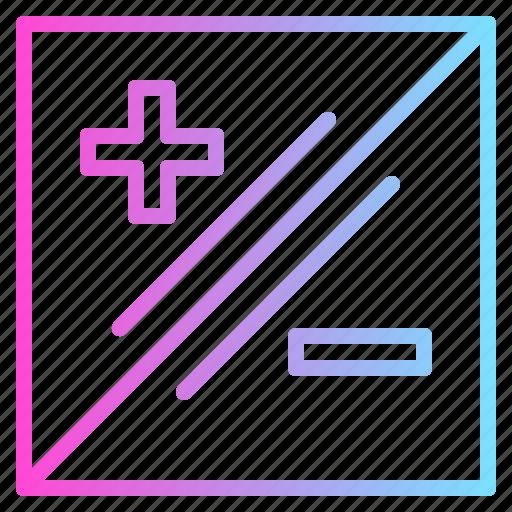 Add, minus, options, plus icon - Download on Iconfinder