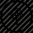 antenna, atm, radio, round, signal icon