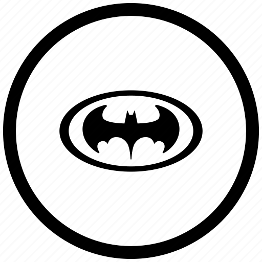 atm, bat, batman, hero, oval, round icon