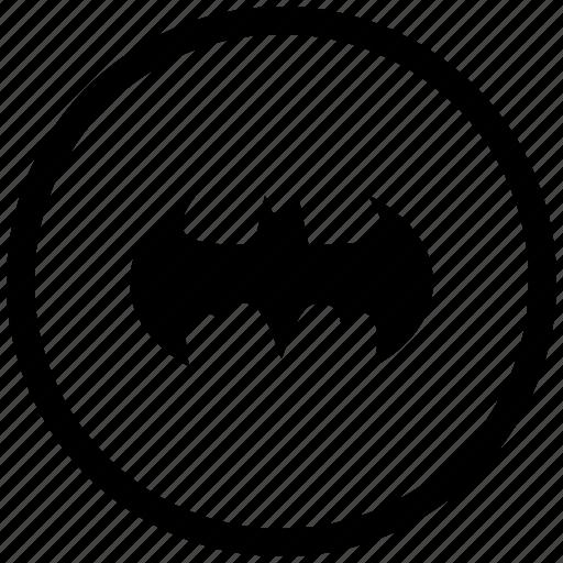 Atm, bat, batman, round icon - Download on Iconfinder