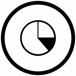 atm, chart, data, diagram, report, round icon