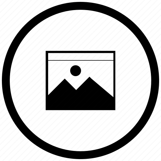 atm, file, image, picture, round icon