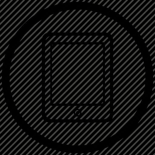 atm, ebook, ipad, reading, round icon