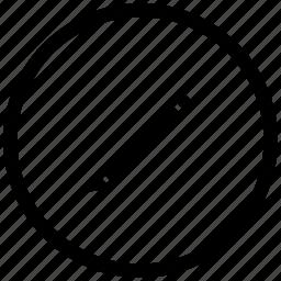 atm, edit, instrument, pen, pencil, round icon