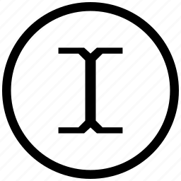 border, cursor, edit, round, space, text icon