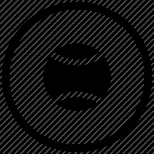 Sport, game, tennis, ball, round icon - Download on Iconfinder