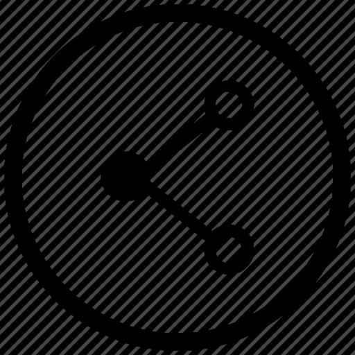 address, atm, href, link, round, url icon