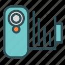 camera, option, settings, video icon