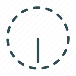 circle, dimmer, levels, options, settings icon