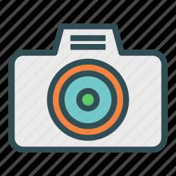 camera, photo, picture, plain icon