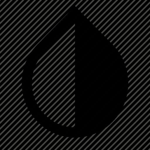 drop, liquid, oil, tint icon