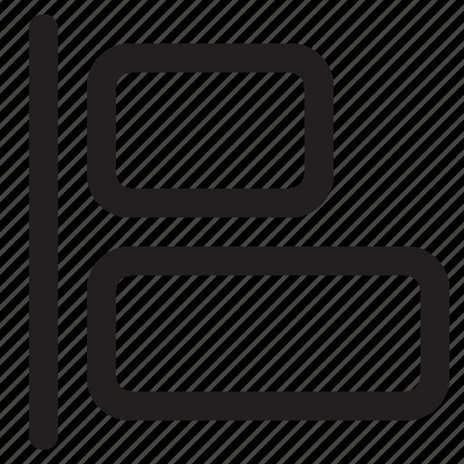 align, editor, left, photo icon