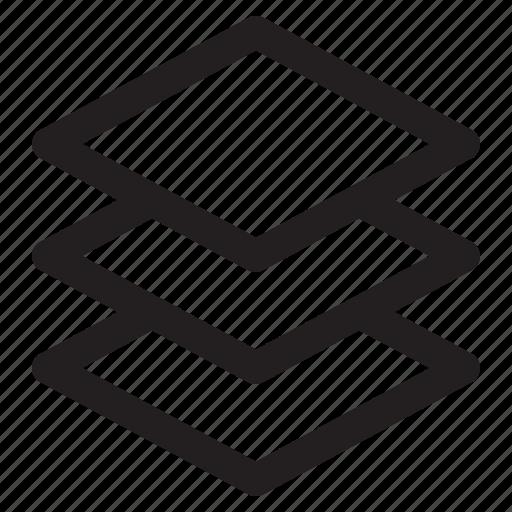 editor, layers, photo icon