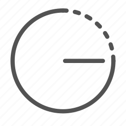 circle, dimmer, level, options, settings icon