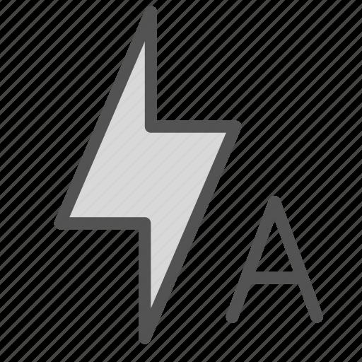 auto, bolt, flash, lightining, options, settings icon