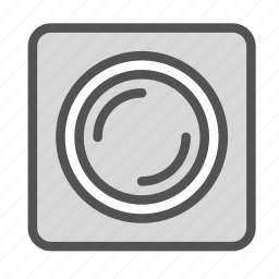 camera, lens, photo, picture, video icon