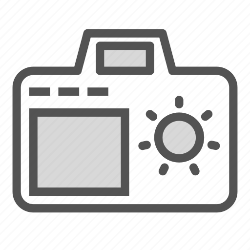 camera, digital, light, photo icon