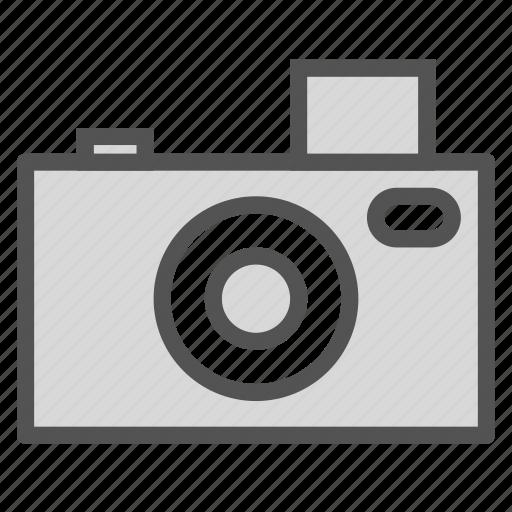 camera, old, photo, vintage icon
