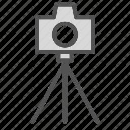 camera, photo, picture, tripod icon