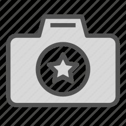 camera, fav, favorite, photo, star icon