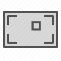 focus, frame, photo, picture, target icon