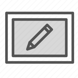 edit, pen, photo, picture, tool icon
