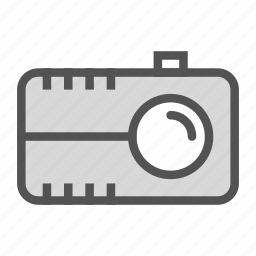 camera, old, video, vintage icon