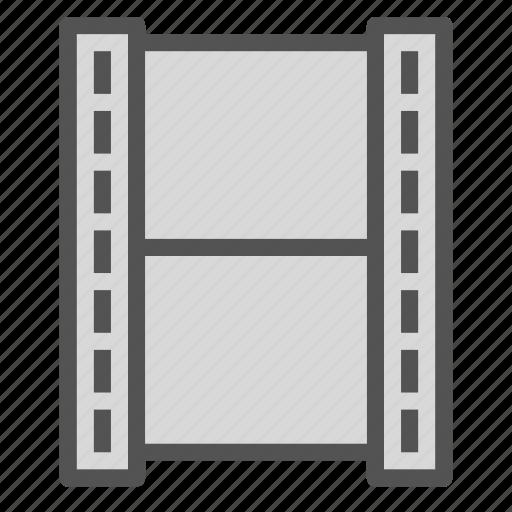 film, media, negative, video icon
