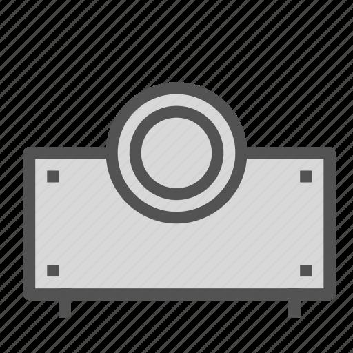 media, projector, video icon