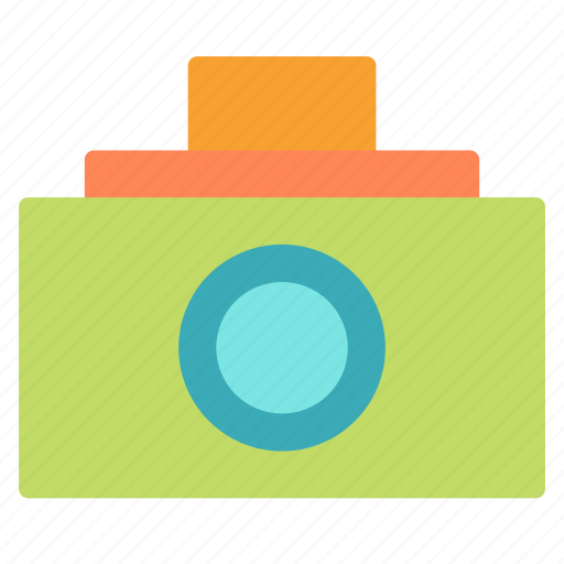 camera, photo, picture, plain icon