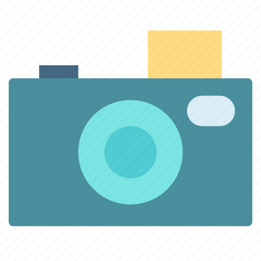 camera, old, photo, vintage icon
