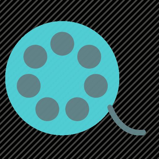 circle, film, negative, photo icon