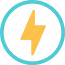 effect, flash, lightcircle icon