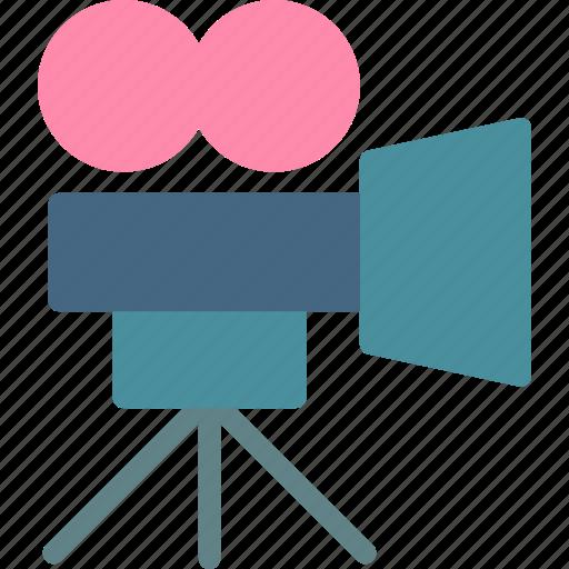 camera, clip, device, film, movie, photography, video icon