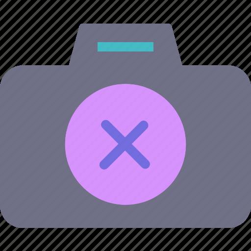 camera, cancel, device, photography, photoshoot icon